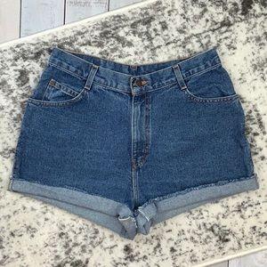Gitano vintage mom jean cutoff shorts
